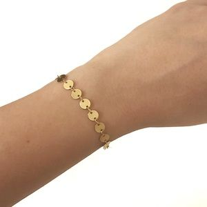 Jewelry - NEW 10k Handmade Gold Filled Dainty Bracelet